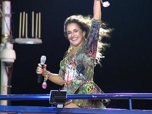 Daniela Mercury frame (Foto: Imagem/ TV Bahia)