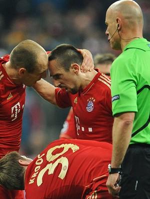 Robben e Ribery, Bayern de Munique (Foto: EFE)