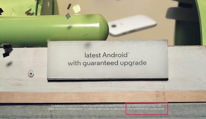 Vídeo indica novo Android (Foto: Reprodução/Android Central)