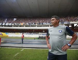 Flávio Araújo não gostou do que viu do Remo no clássico de domingo (Foto: Tarso Sarraf/O Liberal)