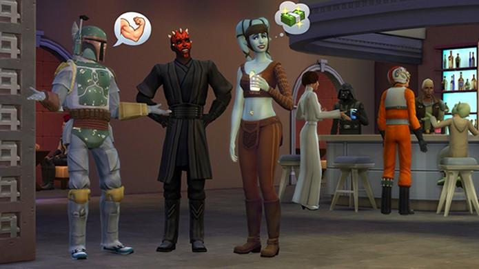 The Sims 4 recebe roupas gratuitas baseadas nos filmes de Star Wars (Foto: Reprodução/GameInformer)