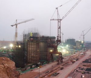 Usina Hidrelétrica de Jirau (Foto: O Globo)