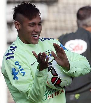 Neymar, treino da Seleção Brasileira (Foto: Rafael Ribeiro / CBF)