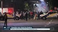 Usuários colocam fogo em carro e bloqueiam ruas na Cracolândia