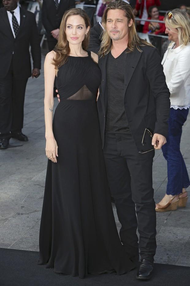 Angelina Jolie e Brad Pitt (Foto: Agência Reuters)