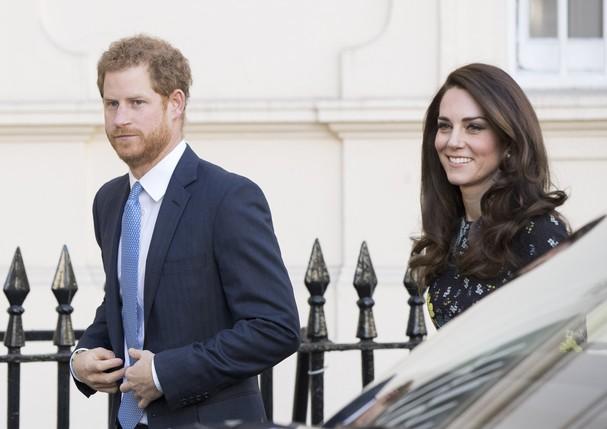 Príncipe Harry e Kate Middleton (Foto: Getty Images)
