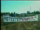 Manifestantes interditam estradas de acesso a Gurupi e Barreira da Cruz