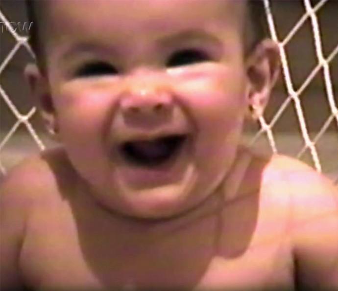Olha que fofura a Bruna Marquezine bebê!!! ♥ (Foto: Gshow)