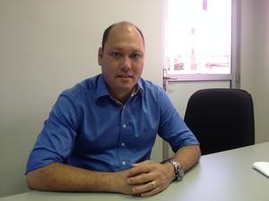 Robson Rocha santana prefeito  amapá (Foto: Abinoan Santiago/G1)