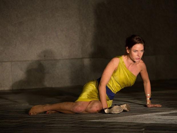 Rebecca Ferguson em cena de 'Missão: Impossível – Nação secreta' (Foto: Divulgação)