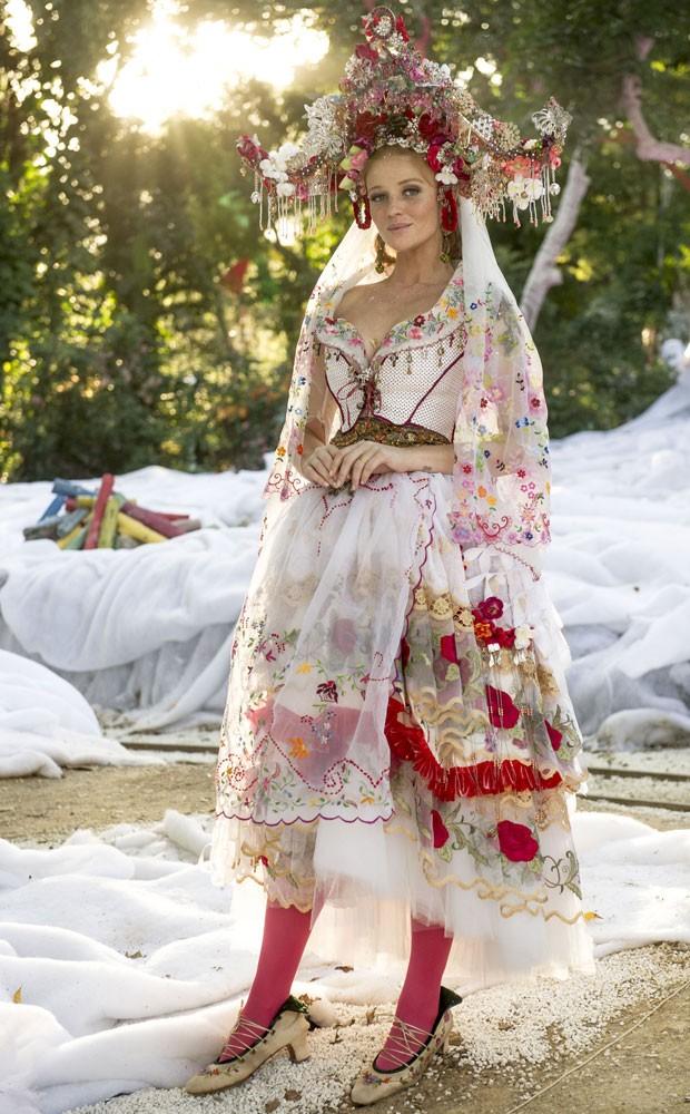 Vestido de noiva de Milita (Foto: Renato Rocha Miranda/TV Globo)