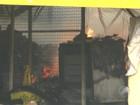 Incêndio atinge supermercado em Feira de Santana
