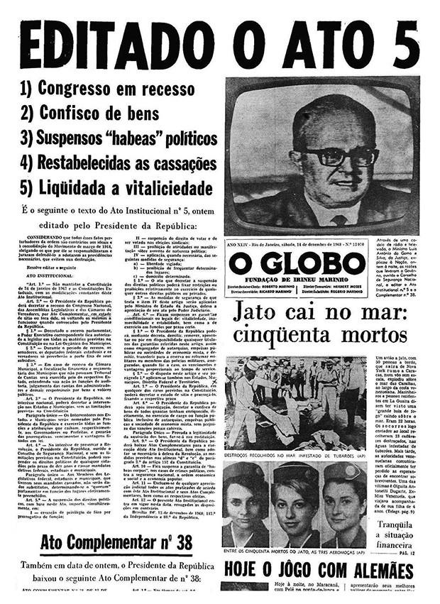 AI 5 (Foto: Arquivo O Globo)