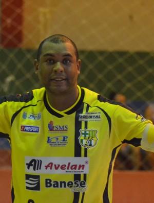 luciano do glória futsal (Foto: João Áquila / GLOBOESPORTE.COM)