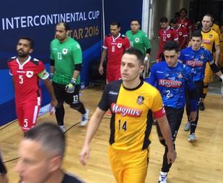 Sorocaba x Al Rayyan - Copa Intercontinental de Futsal (Foto: Guilherme Mansueto/ Magnus Futsal)