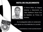 Cabo da Polícia Militar atingido por tiro na cabeça morre no HGE, em Maceió