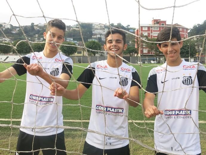 Anderson Santos, Vinicius de Oliveira e Athos