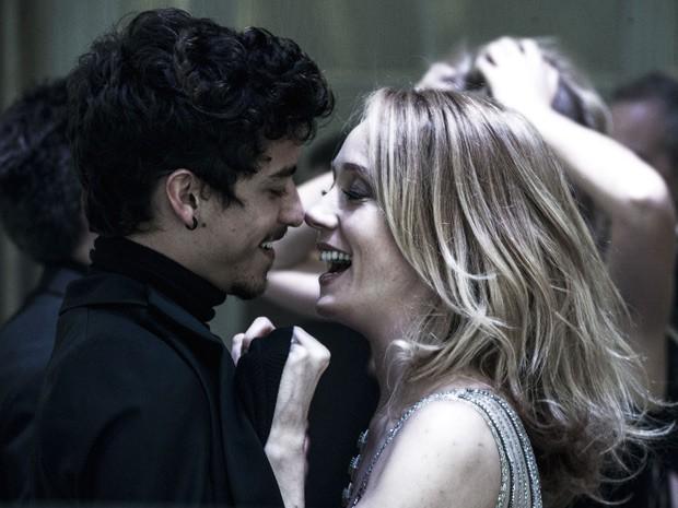 Alain e Maria Angélica (Foto: Estevam Avellar / TV Globo)