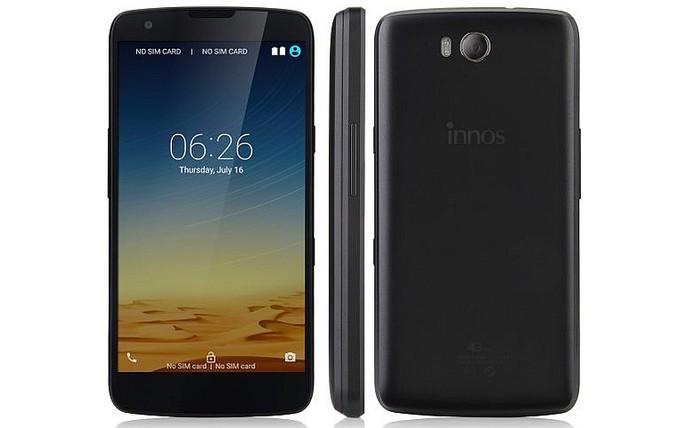 Smartphone Innos D6000 vem com duas baterias (Foto: Divulgação/Innos)