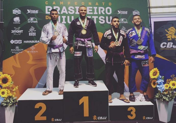 Sergipano em Brasileiro de jiu-jitsu (Foto: Assessoria/Irmãos A&H)