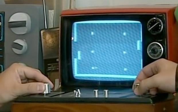 Telejogo, primeiro videogame do Brasil (Foto: Reprodução SporTV)