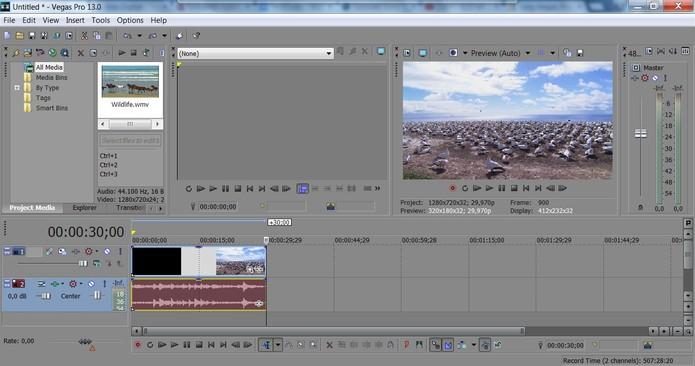 Escolha um vídeo para ser editado (Foto: Reprodução/Juliana Pixinine)