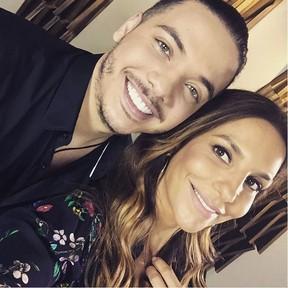 Wesley Safadão e Ivete Sangalo gravam clipe juntos (Foto: Reprodução/Instagram)