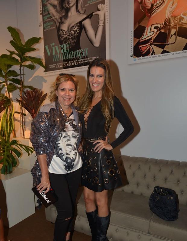 Astrid Fontenelle e Andréa Guimarães (Foto: Marcos Rosa/Ed. Globo)