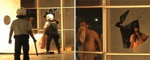 Vídeo gravado dentro do  Itamaraty mostra depredação (Reprodução)