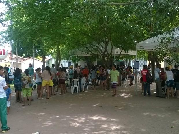 PI TV nos Bairros leva cidadania aos moradores da Zona Sul de Teresina (Foto: Paulo Fernandes/TV Clube)