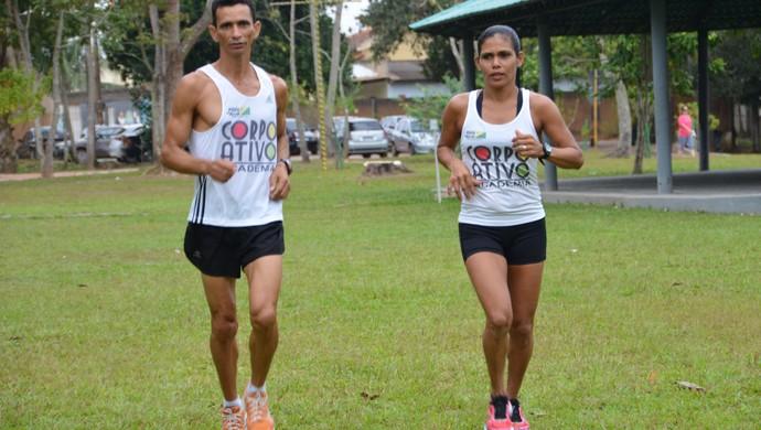 Rosângela e Evandro Acre (Foto: Nathacha Albuquerque)
