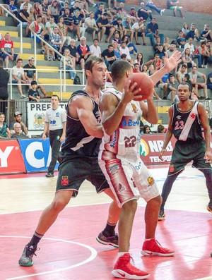 Caxias do Sul x Vasco, NBB, basquete (Foto: Geremias Orlandi/Caxias do Sul Basquete)