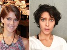 Isabella Santoni muda o visual e mostra na web: 'Acordei morena'