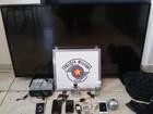 Dois suspeitos são presos após assaltarem casa em Bocaina