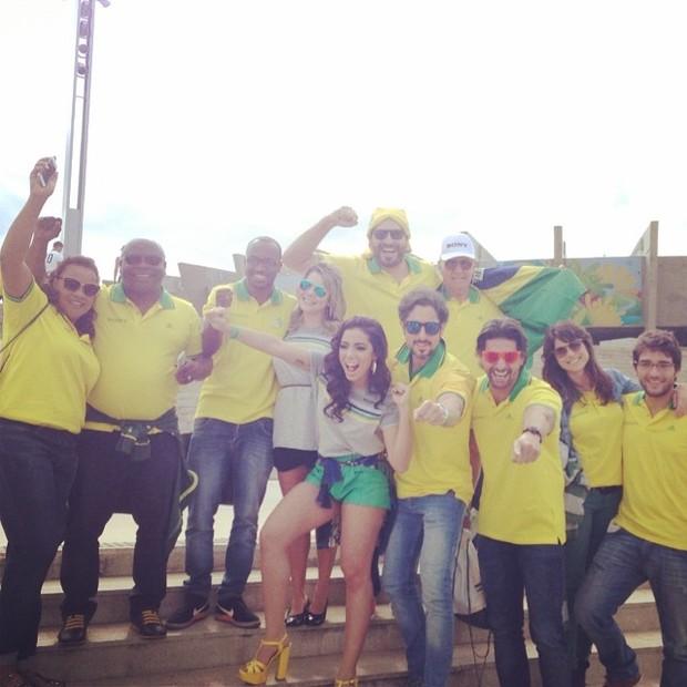 Anitta, Thiaguinho, Fernanda Souza, Thiago Lacerda e Marcos Mion (Foto: Instagram / Reprodução)