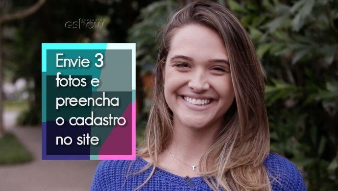 Juliana Paiva dá a dica para inscrições no Garota Totalmente Demais (Foto: Gshow)