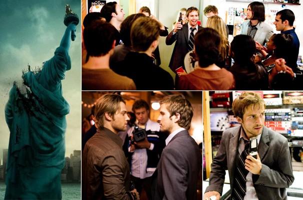 Pânico toma conta de todos quando eles percebem que um monstro gigante está atacando Nova York (Foto: Divulgação/Reprodução)
