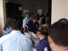 Neudo Campos segue internado em hospital (Emily Costa/G1)