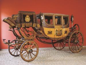 Berlinda de Aparato de Dom Pedro (Foto: Divulgação/ Museu Imperial de Petrópolis)