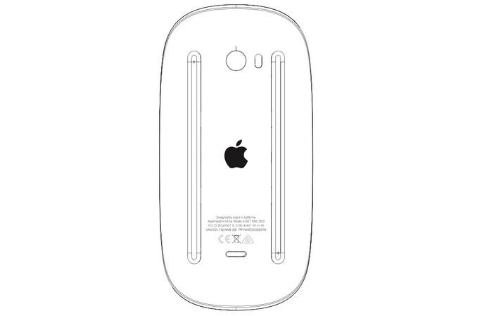 Magic Mouse 2 está relatado para integrar Bluetooth 4.2 e baixo gasto de energia (Foto: Divulgação/US Federal Comission)