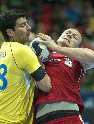 Seleção brasileira de handebol perde para a Hungria (Foto: Reuters)