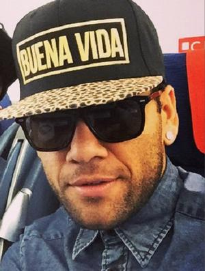 Neymar e Daniel Alves (Foto: Reprodução/ instagram)