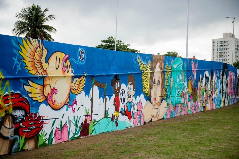 Memorial em homenagem à Araceli, em Vitória (Foto: Diego Alves/ Prefeitura de Vitória)