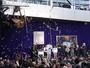 """Shaquille O'Neal ganha estátua no ginásio dos Lakers: """"Inesperado"""""""