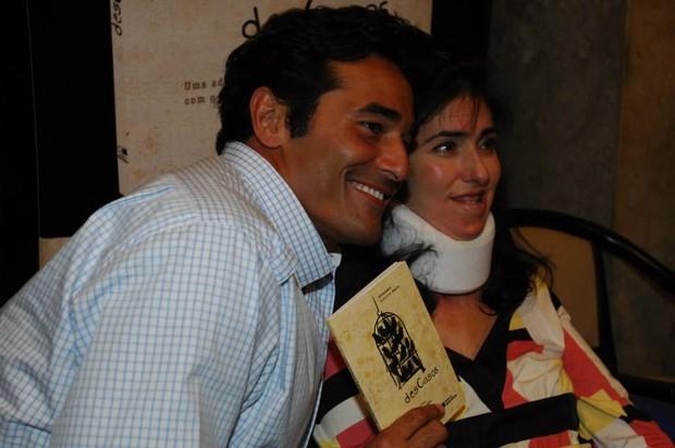 Luciano Szafir com a irmã, Alexandra (Foto: Reprodução/ Facebook)