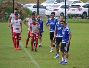 Jogo-treino Ponte Preta (Foto: Raul Sauan/ PontePress)