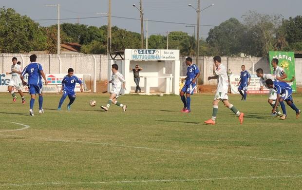 Gurupi e Inove empataram em 0 a 0 no Rezendão no 1° jogo da segunda fase (Foto: Gil Correia/Arquivo Pessoal)