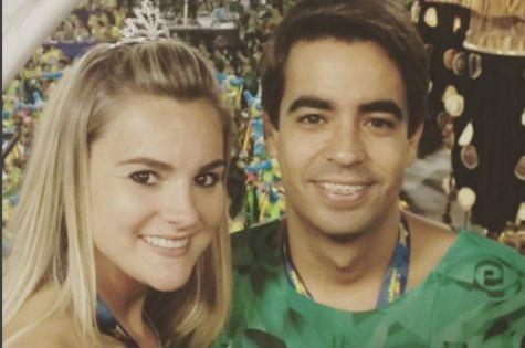 Thalita Ribeiro e Patrick de Oliveira (Foto: Reprodução)