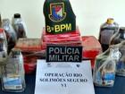 'Operação Solimões' apreende mais de 20 kg de drogas em navio, no AM