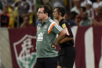 Enderson Moreira Fluminense x Cruzeiro Maracanã (Foto: André Durão)